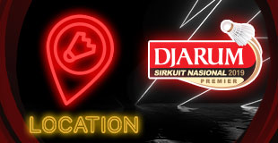 Djarum Sirkuit Nasional 2019 - Location