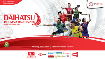 Highlight Persiapan Daihatsu Indonesia Masters 2018
