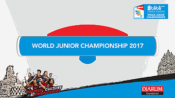 WORLD JUNIOR CHAMPIONSHIPS 2017 | MD | NIPORNRAM/SARAPAT (THA) vs DUIJS/VAN DE AAR (NED)