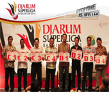 Drawing | Djarum Superliga Badminton 2013