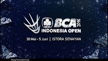 BCA Indonesia Open Superseries Premier 2016 - 15S