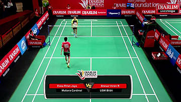 Day 2 | Djarum Superliga Badminton 2015