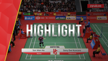 Sony Dwi Kuncoro (Indonesia) VS Son Wan Ho (Korea)