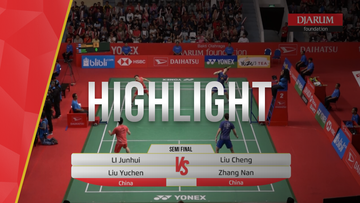 Li Junhui/Liu Yuchen (China) VS Liu cheng/Zhang Nan (China)