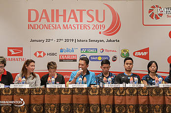 Daihatsu Indonesia Masters 2019 - Preparation