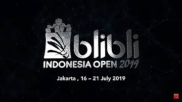 Blibli Indonesia Open 2018 [ Official After Movie ]