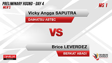 PRELIMINARY ROUNDS | Men's Teams | DAIHATSU ASTEC VS BERKAT ABADI BANJARMASIN