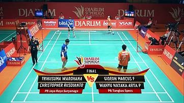 Day 7 | Djarum Superliga Badminton 2013