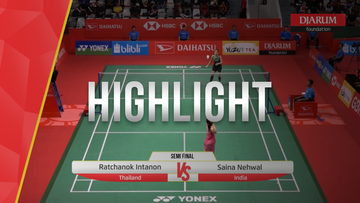 Ratchanok Intanon (Thailand) VS Saina Nehwal (India)