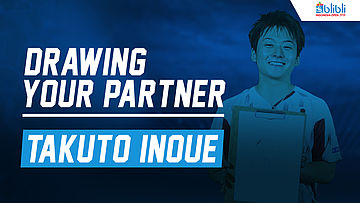 Drawing Your Partner with Takuto Inoue at Blibli Indonesia Open 2018