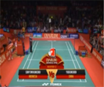 Sony Dwi Kuncoro (INDONESIA) VS Yuekun Chen (CHINA) Djarum Indonesia Open 2013