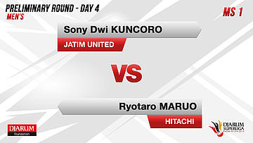 PRELIMINARY ROUNDS | Men's Teams | JATIM UNITED VS HITACHI JAPAN