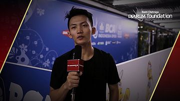 Interview Ihsan Maulana Mustofa (INA) After Match VS Brice Leverdez (FRA)