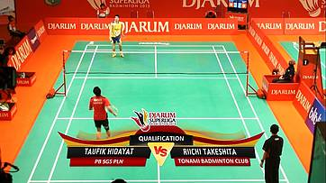 Day 1 | Djarum Superliga Badminton 2013